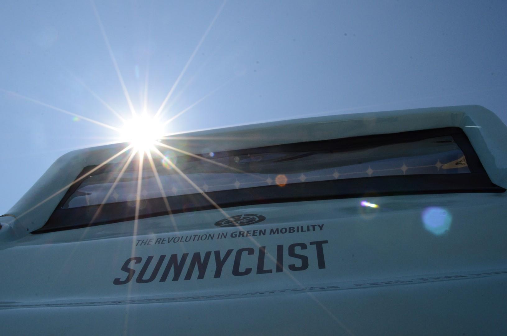 Sunnyclist Hybrid electro solar green vehicle